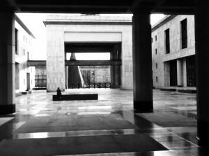 Photo by Jan Boesten (copyright). Judicial Palace, Bogota. November 2012